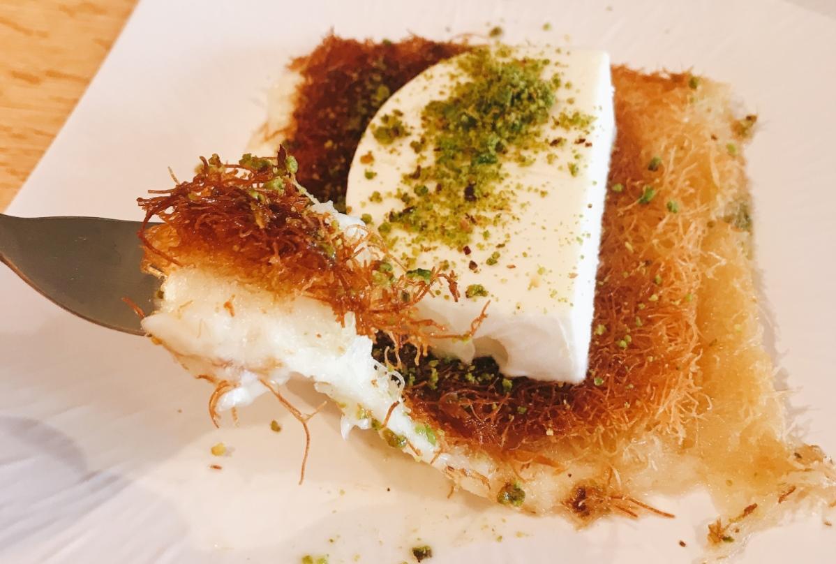 Knafe Cafe - Yarka - Druze Village - Knafe Turkish Ice Cream