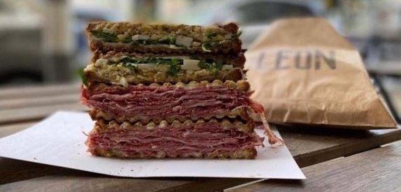 Leon Toast - Tel Aviv - Not Kosher - Beef Toast