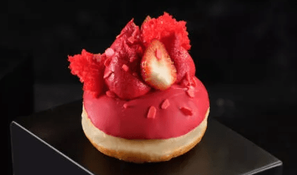 Boulangerie 96 - Sufganiyot - Tel Aviv - Strawberry