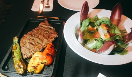 Valero - Kosher - Jerusalem - Wagyu Denver Steak Salad