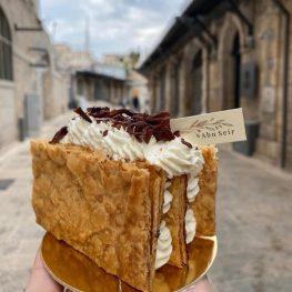 Patisserie Abu Seir - Macaron - Old City Jerusalem - Napoleon