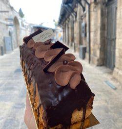 Patisserie Abu Seir - Not Kosher - Old City Jerusalem - Chocolate