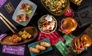 Food Terminal - Rishon Le Zion - Not Kosher - Sushi & Burgers - Credit Boaz Lavie