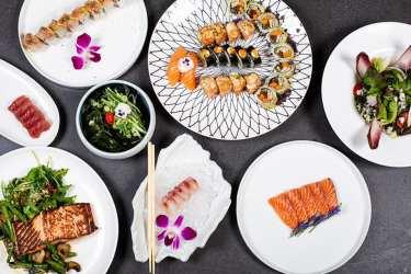 4Sea Sushi Restaurant - Herzliya Pituach - Not Kosher - Sushi & Grilled Salmon