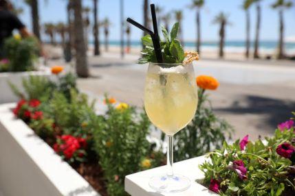 Talassa Greek Restaurant - Bat Yam Beach - Not Kosher - Cocktail