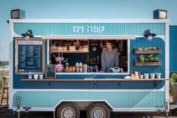 Cafe Ve Yam - Netanya - Coffee Cart 2