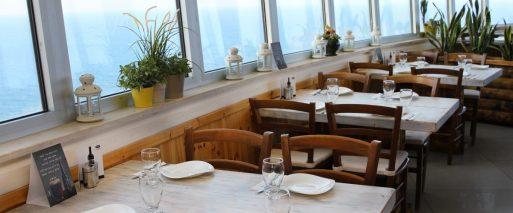 Hatzuk Restaurant - Kosher - Rosh Hanikra - Sea View