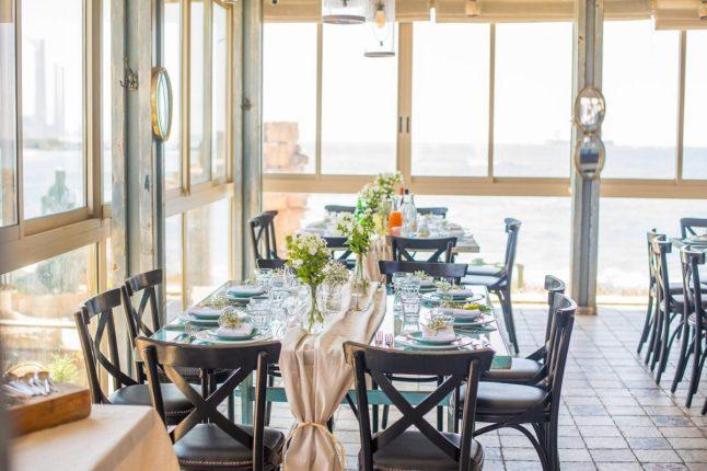 Limani Bistro - Sea food - Caesaria Port - Not Kosher - Sea View