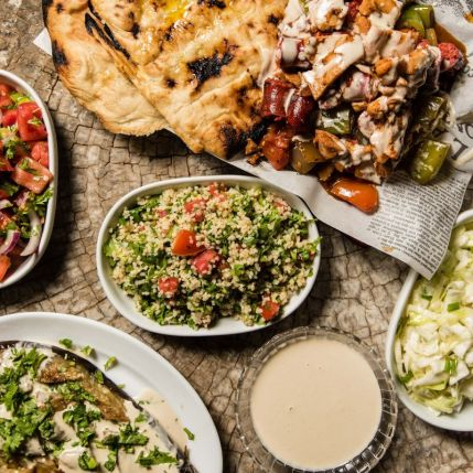Matfuna Etzel Boya - Tzohar - Slow Cooked Meat - Moshav Ahisamakh - Salads