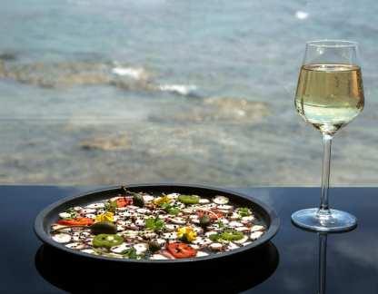 Mina Restaurant - Akko - Seafood Restaurant - Not Kosher - Fish Starter