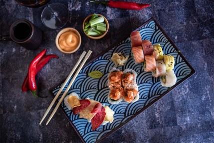 Papasan - Kosher - Asian Restaurant - Givatayim - Sushi 2