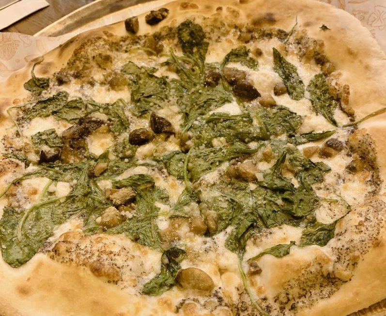 Peppino - Kosher - Modiin - Pizza Castana Spinachi