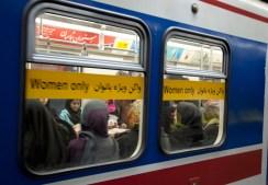 地鐵的女性車廂