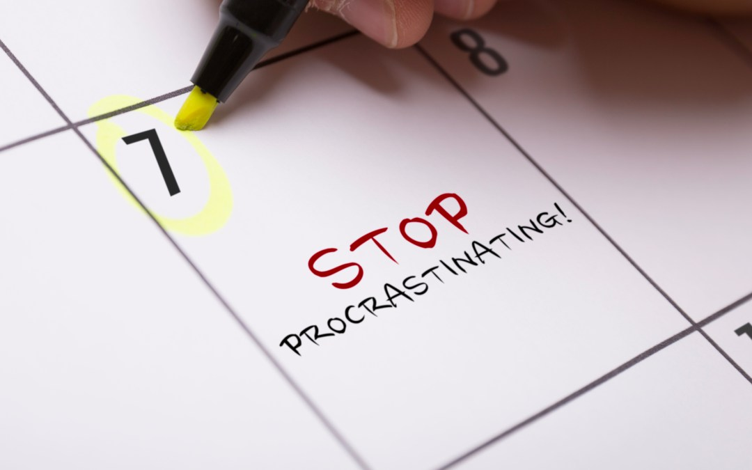Pay attention to Procrastination… you can learn a lot about yourself