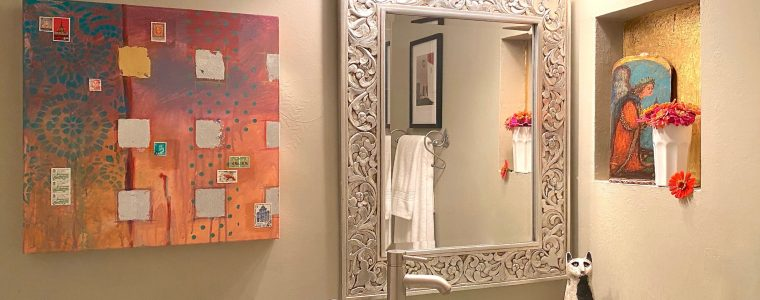 Styling Our Miniscule Master Bath