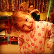 December: Gorgeous little niece Willow