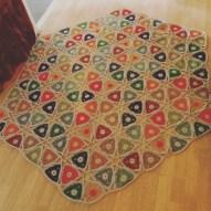 hexagonal blanket