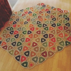 hexagonal blanket