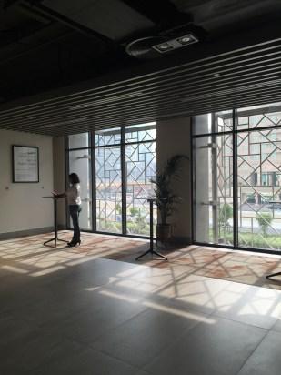 Foyer area at the mezzanine floor
