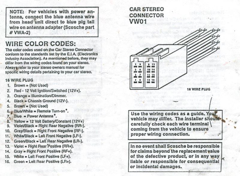 Barry L. Kramer's 2001 Jetta Audio System Installation