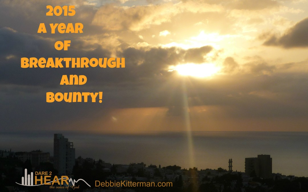 2015 – A Year of Breakthrough and Bounty!