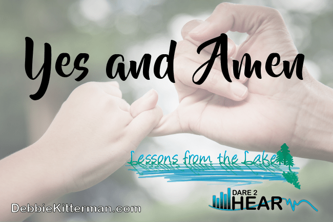 Yes & Amen Vlog #45 Lessons from the Lake