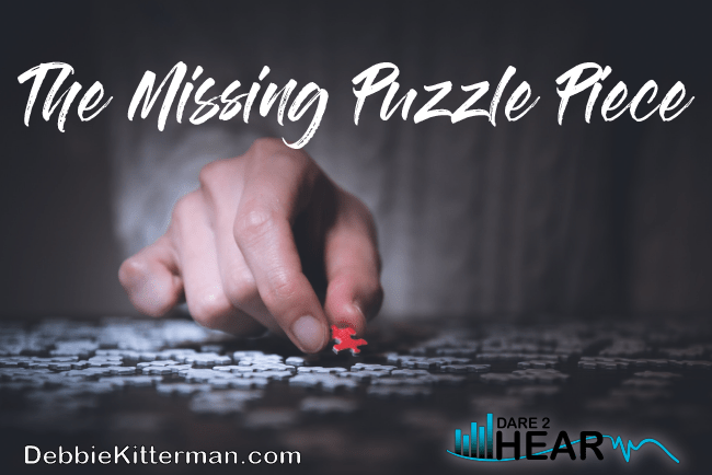 The Missing Puzzle Piece & Tune In Thursday #81