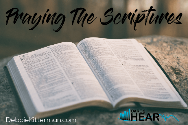 Praying the Scriptures + Tune In Thursday #145