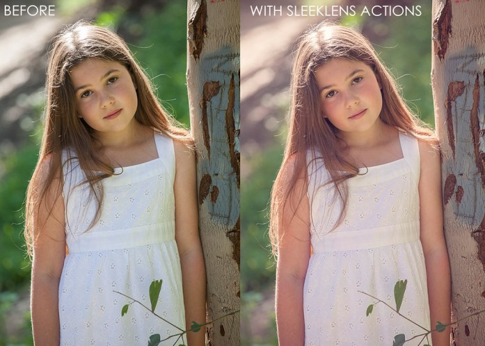 Sleeklens Portrait Perfection Photoshop Actions Review
