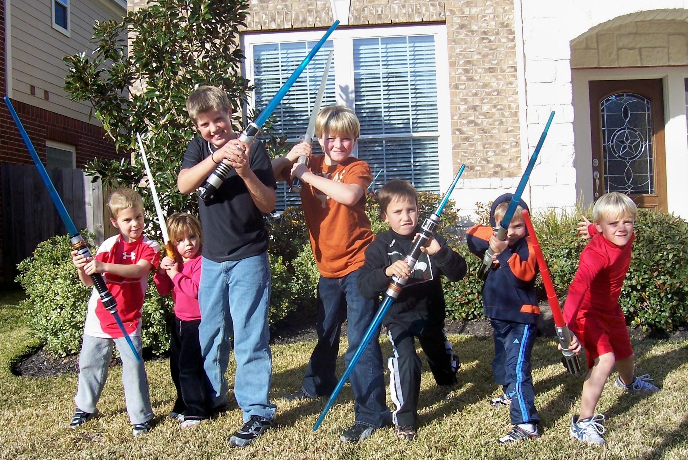 Neighborhood Star Wars