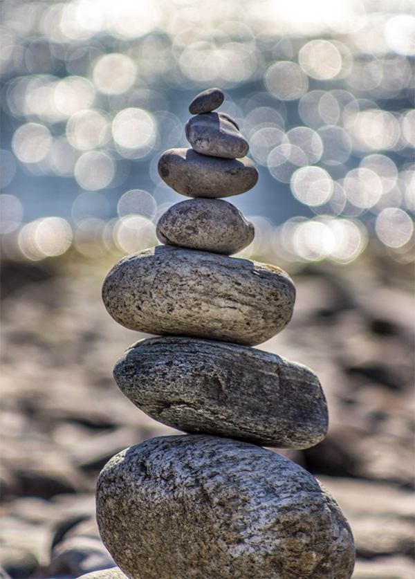 stacked rocks hompage image - Home