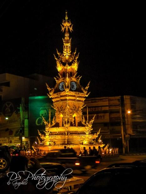 CR Clock Tower Night