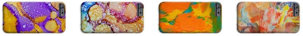 custom iphone case by artist deb breton