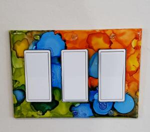 multi colored light switch