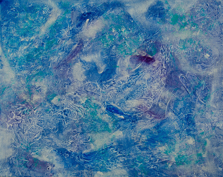 riding the ocean currents painting