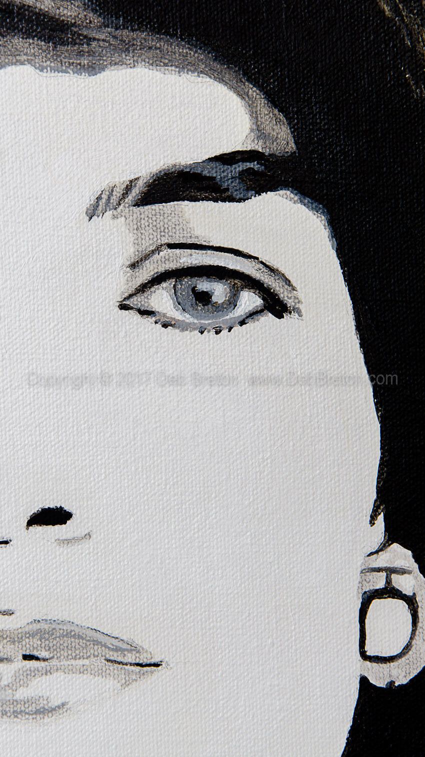 Jackie Kennedy - close-up detail
