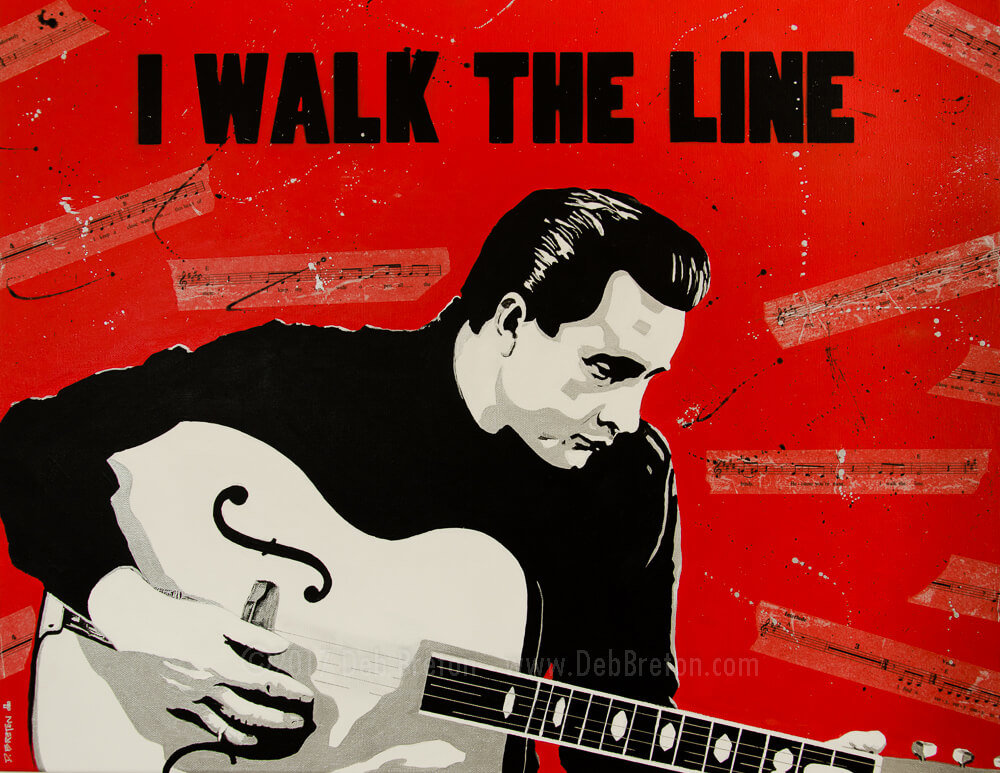 Johnny Cash – I Walk the Line