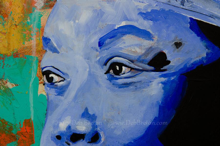 Maya Angelou's eyes of wisdom