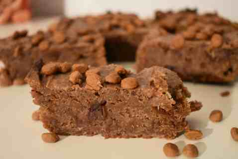 Healthy Speculaas Brownies