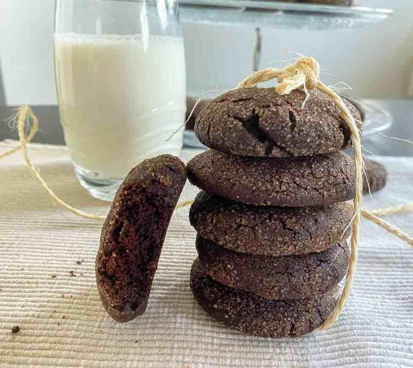Chocolade Snickerdoodle Cookies