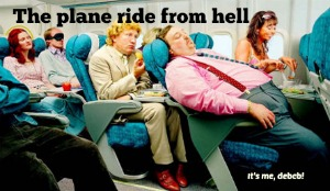 Memory Lane Monday- The plane ride from hell