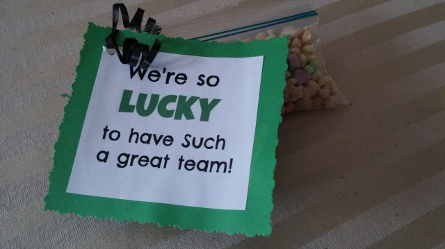 Dance Team Motivator Lucky Charms