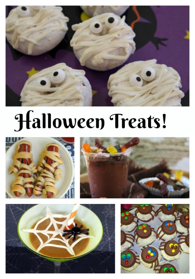 Halloween Treats (no tricks)