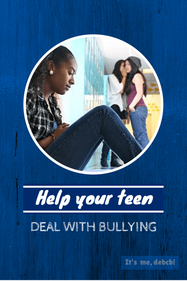 Help your teen deal with bullying