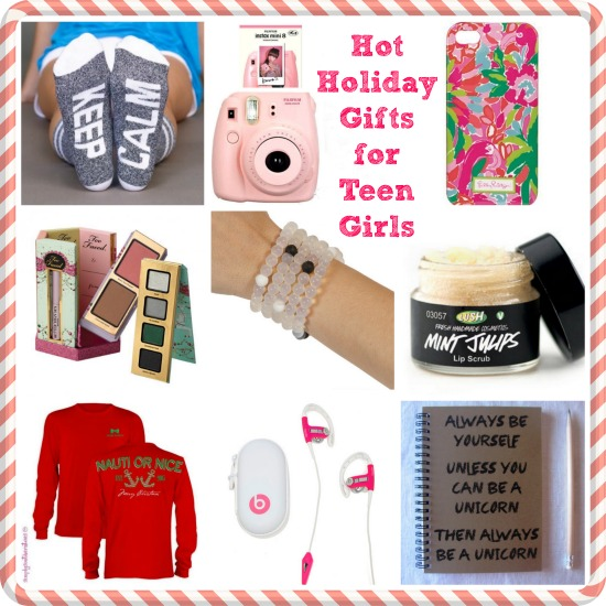 Hot Holiday Gifts for Teen Girls