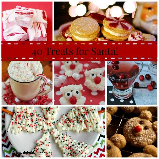 40 Treats for Santa