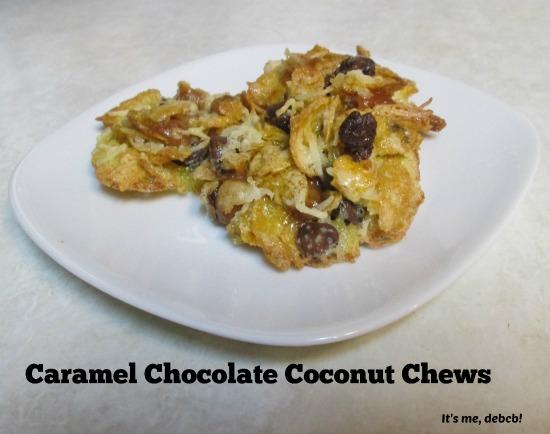Caramel Chocolate Coconut Chews