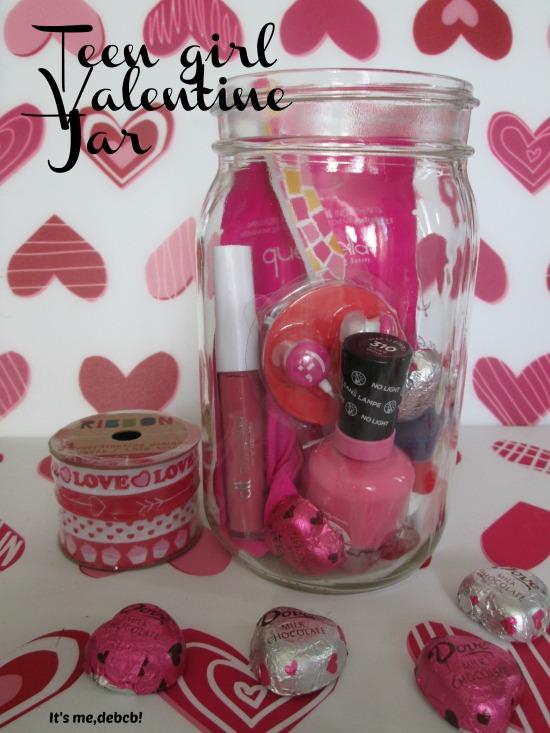 Teen Girl Valentine Jar- It's me, debcb!
