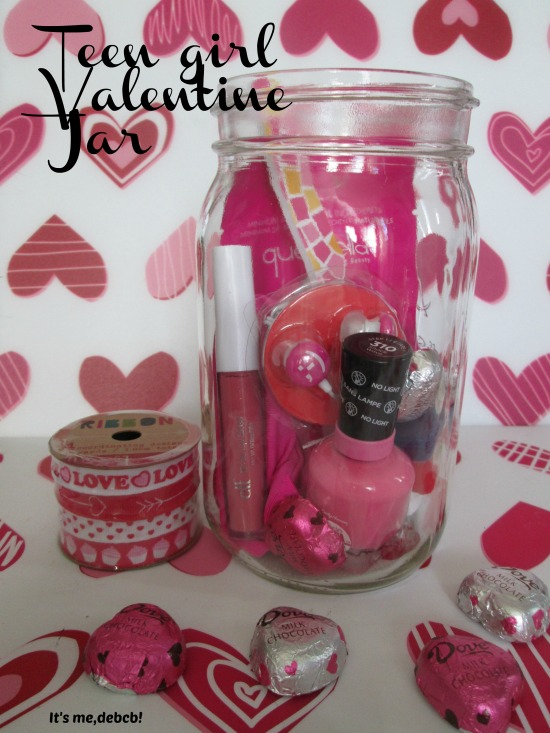 Teen Girl Valentine Jar- It's me, debcb!