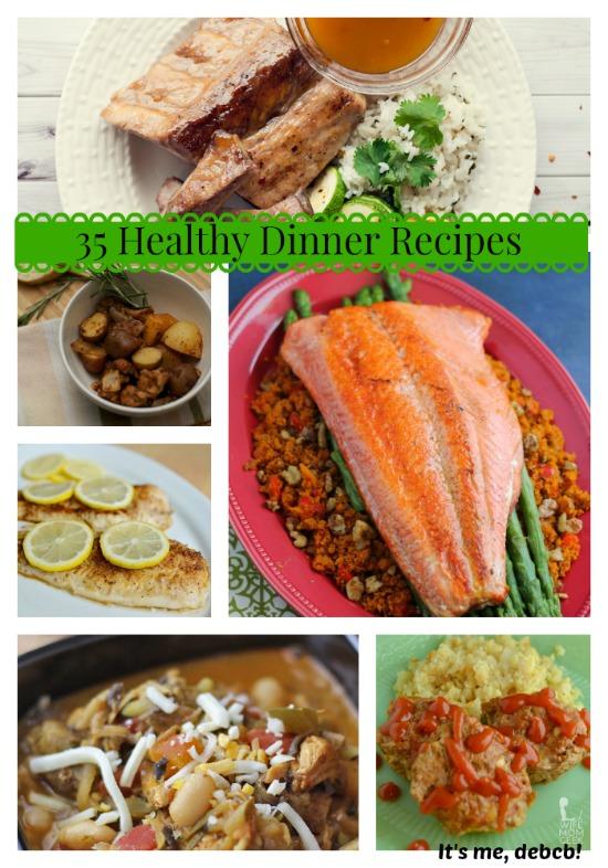 35 Healthy Dinner Recipes